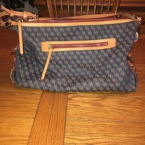 Dooney & Burke: denim purse
